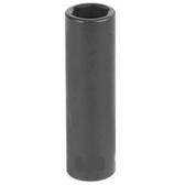 "Grey Pneumatic 1018D 3/8"" Drive x 9/16"" Deep Socket"