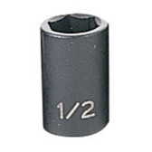 "Grey Pneumatic 1016R 3/8"" Drive x 1/2"" Standard Socket"