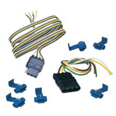 """Hopkins 48205 60"""" 4-Wire Flat Connector Kit"""