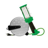 Designers Edge E319 LED Work Light Reel, 72 LEDs,  16/3 30' Cord