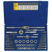 Irwin 24640 Machine Screw w/Fractional Tap & Hex Die Set