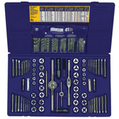 Irwin 26377 117pc Deluxe Tap & Die Set Fractional/Metric