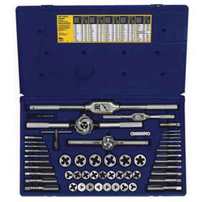 Irwin 26394 53pc Metric Tap & Die Set