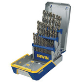 Irwin 3018002B 29pc Drill Bit Set Cobalt