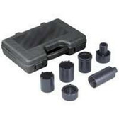 OTC 4543A 6 piece 4WD Spindle Nut Socket Set