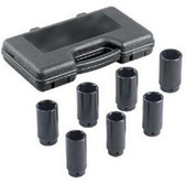 OTC 4547A 7 piece Axle Nut Socket Set