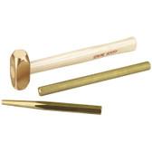 OTC 4606 Brass Hammer and Punch Set