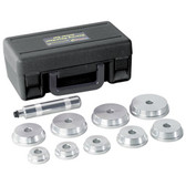 OTC 4507 10 Piece Bearing Race/Seal Driver Set