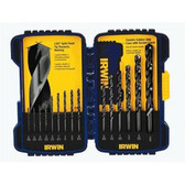 Irwin 314015 Drill Bit 15pc Black Oxide Set