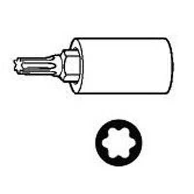 "OTC 6192 Socket, TP55 Torx +, 3/8"" Drive"