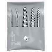 Irwin 53535 5pc Set(1-5)Spiral Screw Extractor
