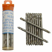 SG Tool Aid 15210 1/8 Double End Drill Bit, 10 Pack