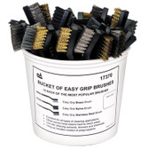 SG Tool Aid 17370 Bucket Of Easy Grip Brushes