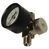 SG Tool Aid 98300 Air Adjustment Valve with Gage for Paint Spraying