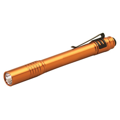 Streamlight 66128 Stylus Pro Orange w/White LED Flashlight