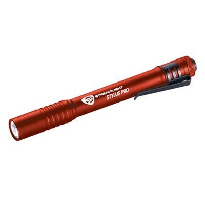 Streamlight 66120 Stylus Pro Red / White LED Flashlight