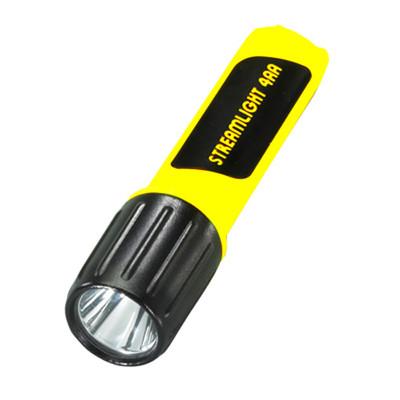 Streamlight 68244 4AA Luxeon White LED, Yellow Flashlight