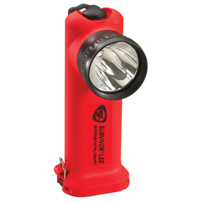 Streamlight 90500 Survivor LED Flashlight (without charger) Orange