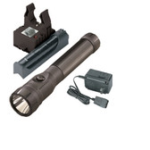 Streamlight 76133 PolyStinger LED Flashlight AC, Piggyback - Black