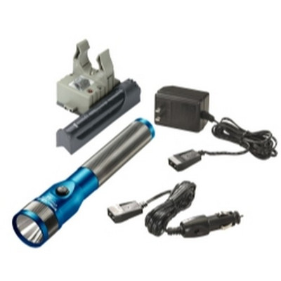 Streamlight 75613 Stinger LED Rechargeable Flashlight Blue