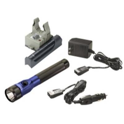 Streamlight 75617 Stinger DS LED Flashlight Blue AC/DC