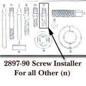 GearWrench 289790 Installer Screw Others