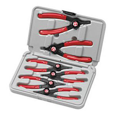 GearWrench 3859D 6 piece Cam-Lock Snapring Plier Set