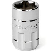 "Gearwrench 122140GR 1/4"" Drive (13mm) Pass Thru Ratcheting Socket"