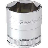 "Gearwrench 80378 3/8"" Drive 6 Point Metric Socket 10mm"