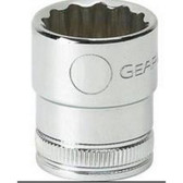 "Gearwrench 80494 3/8"" Drive 12 point Socket 18mm"