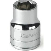 "Gearwrench 80357 3/8"" Drive 6 Point SAE Socket 11/16"""