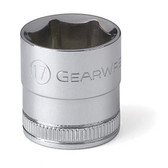 "Gearwrench 80385 3/8"" Drive 6 Point Metric Socket 17mm"