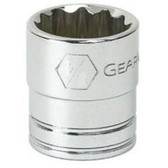 "Gearwrench 80507 3/8"" Drive 12 point Socket 15/16"""