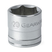 Gearwrench 80330 20mm 6 Point Socket 3/8""