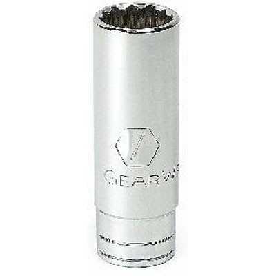 "Gearwrench 80516 3/8"" Drive 12 point Deep Socket 11/16"""