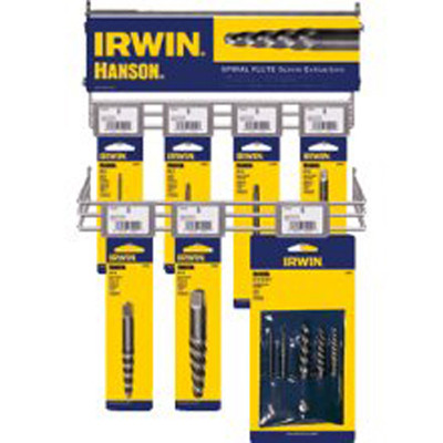 Irwin 65525 28pc Spiral Flute Screw Extractor Set