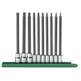 Gearwrench 80588 10 piece Long Torx Set T8-T50