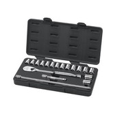 "Gearwrench 80708 18 piece 1/2"" Drive Metric Socket Set"