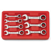 Gearwrench 9507D 7 piece SAE Stubby Double Box Ratcheting Socketing Wrenches