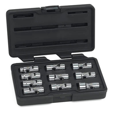 "Gearwrench 80565 10 piece 3/8"" Drive 6 Point Flex Metric Socket Set"