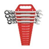 Gearwrench 9703 4 piece Flex-Head Double Box Ratcheting Socketing Wrench