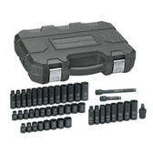 """Gearwrench 84916 Socket Set 44 piece 3/8"""" Drive SAE/mm"""