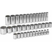 "Gearwrench 80730 Socket Assembly Set 37 piece Master Set 1/2"" Drive"