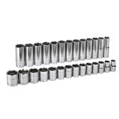 "Gearwrench 80729 Socket Assembly Set 27 piece Master Set 1/2"" Drive"