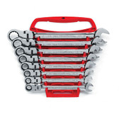 Gearwrench 9701 8 piece Flex-Head Double Box Ratcheting Socketing Wrench