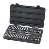 "Gearwrench 80550 57 piece 3/8"" Drive 6 Point Socket Set"
