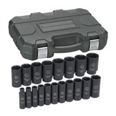 Gearwrench 84934 Socket Set 19 piece SAE Deep