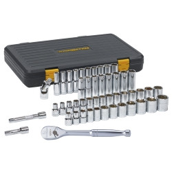Gearwrench 80700P 49 piece Standard and Deep Socket Set