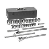 """Gearwrench 80880 Socket Set 27 piece 3/4"""" Drive 12 Point"""