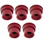 Lumax LX-1458 Grease Fitting Caps Rubber 5pc